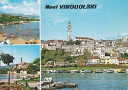 Yugoslavia--Novi Vinodolski--1980-----Novi-a, Fryming Merlebach, Francia - Yugoslavia