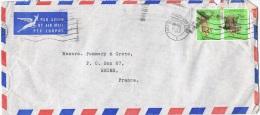 """AF-L18 - AFRIQUE DU SUD N° 270 """"épis De Maïs"""" Sur Lettre Par Poste Aérienne De Cape Town Pour Reims - Afrique Du Sud (1961-...)"""