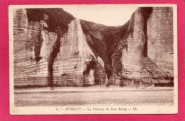 76 SEINE-MARITIME ETRETAT, La Valleuse De Jean Bourg, 1928, (L. L., Paris) - Etretat