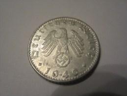 50  REICHSPFENNIG 1940. - [ 4] 1933-1945 : Third Reich