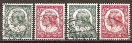 DR 1934 // Mi. 554/555 O 2x - Gebraucht