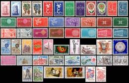 FRANCE EUROPA SERIE DE 1956 à 1981 COMPLETE - Volledig Jaar