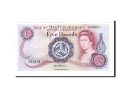 Isle Of Man, 5 Pounds, 1972, KM:30a, Undated, TTB+ - 5 Pond
