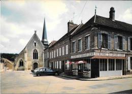 FERTE LOUPIERE Place Eglise Et Restaurant Auberge - Autres Communes