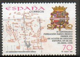 ESPAGNE  Fondation Du Nouveau Mexique 1998 N° 3168 - 1991-00 Used