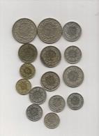 Lot De 15 Pieces Monnaies De Suisse - Suisse