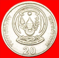 ★TEA: RWANDA 20 FRANCS 2003! LOW START★NO RESERVE!!! Balboa (1475-1519) - Rwanda
