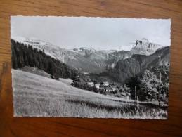 Samoens , Prise De Chantemerle , Vue Sur Le Mont Blanc Et La Pointe De Sales - Samoëns