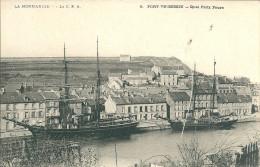 14 PORT EN BESSIN QUAI PORT BATEAU BATEAUX  NORMANDIE - Port-en-Bessin-Huppain