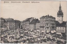 AK- Brünn - Am Krautmarkt - 1910 - Tschechische Republik