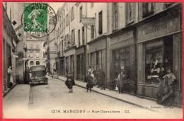 CPA 71 MARCIGNY Rue Chevalière - Otros Municipios