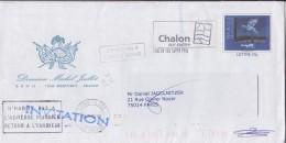 """= Enveloppe Prêt à Poster Fenêtre Type Du N°3145 Entier """"Le Retour"""" Oeuvre De René Magritte Chalon Sur Saône 4.11.2005 - Enteros Postales"""