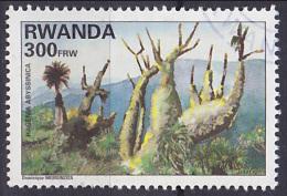 Timbre Oblitéré N° 1468 A(Michel) Rwanda 1995 - Arbres - Rwanda