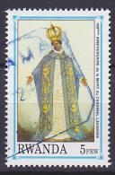 Timbre Oblitéré N° 1450(Michel) Rwanda 1992 - Anniversaire De La Mort Du Cardinal Lavigerie - Rwanda