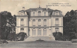NORD  59  LAMBERSART LEZ LILLE  INSTITUTION SAINTE ODILE  FACADE PRINCIPALE - Lambersart