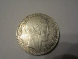 10 FRANCS  ARGENT 1930 - K. 10 Francs