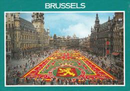 Belgica--Bruxelles--Grand Place--Tapis De Fleurs----a, Francia - Flores