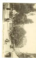 107LL -Toulouse, Square Du Capitole Et La Rue Lafayette Animés - Verso Timbre Semeuse Camée Verte 5c - Toulouse