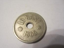 ROUMANIE  10 BANI 1905 - Rumania