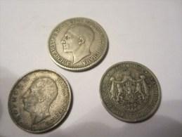 SERBIE 3 PIECES DE 1925 A 1930. - Serbie