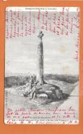 BEUZEC - Menhier Surmonté D'une Croix , à Beuzec , Près  Penmarc'h - Beuzec-Cap-Sizun