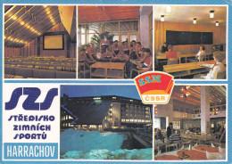 Republica Checa--1985--Krkonose--Harrachov--Stedisko Zimmich Sportu Ryzoviste-----a, Laval, Francia - Postales