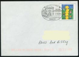 37246) BRD - Ganzsache USo 20 I - SoST In 38820 HALBERSTADT Vom 02.10.2004 - Tag Der Briefmarke, Postkutsche - BRD