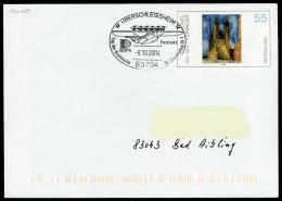 37253) BRD - Ganzsache USo 45 - SoST In 85764 OBERSCHLEISSHEIM Vom 08.10.2004 - Tag Der Briefmarke, 75 J. Erstflug Do X - [7] Federal Republic