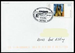 37254) BRD - Ganzsache USo 45 - SoST In 85764 OBERSCHLEISSHEIM Vom 08.10.2004 - Tag Der Briefmarke, 75 J. Erstflug Do X - [7] Federal Republic