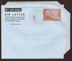 LIBERIA Aerogramme 10¢ Airplane 1957 Harbel Cancel! STK#X20228 - Liberia