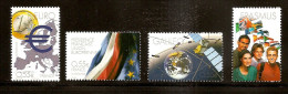 2008 - Grands Projets Européens Issus Du Bloc, Série Complète - N° 4245 à 4248 -NEUF ** LUXE - - Unused Stamps