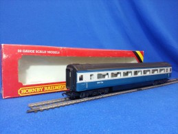 HORNBY RAILWAYS 00 - Inter City R.439 B.R. COACH MK.3- SECONDA CLASSE - Scompartimento Viaggiatori