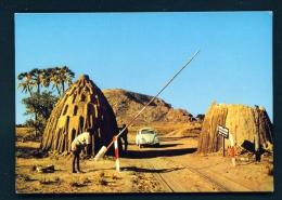 CAMEROON  -  Waza Camp Entrance  Unused Postcard - Cameroon