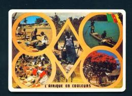 CAMEROON  -  Multi View  Unused Postcard - Cameroon