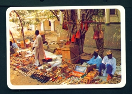 CAMEROON  -  Northern Market With Local Artisans  Unused Postcard - Cameroon