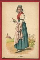 PCA-01  Frau In Tracht Aus Glarus. Nicht Gelaufen Anciens Costumes - GL Glaris