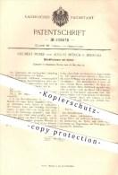 Original Patent - S. Peiser , A.. Mönch / Breslau 1899 , Bleistiftschoner Mit Spitzer , Bleistift , Stift , Schreibwaren - Historische Dokumente