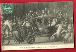 PCA-26 Musée De Versailles Voiture Du Mariage De Napoléon 1er, Carrosse. Circulé Sous Enveloppe - Museen