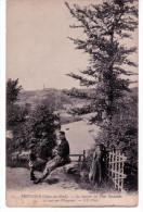 Tréguier - Le Sentier Du Pont Suspendu Et Vue Sur Plouguiel - Tréguier