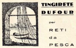 PUBBLICITARIA - PUBBLICITA - GENOVA BORSOLI - FRATELLI DUFOUR - VEDI ALTRA FOTO  ORIGINALE - Pubblicitari