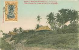 DAHOMEY - PORTO-NOVO, Près De La Gare De Sakété - Dahomey