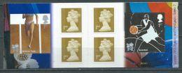 GROSBRITANNIEN GRANDE BRETAGENE GB 2010   4 X 1st Gold (W) + 2 X Olympics Bk 2 Plain PM22 - Libretti