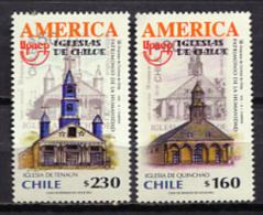 Chile 2001 / UNESCO World Heritage UPAEP MNH Patrimonio De La Humanidad / C10821  31 - Organizaciones