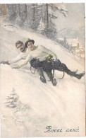COUPLE - Illustrateur VK VIENNE - 5059 - Vienne