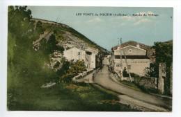 Les Fonts Du Pouzin Entrée Du Village - Le Pouzin