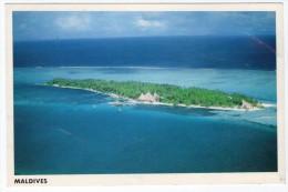 MALDIVES - VIEW (PHOTO JAMAL) / THEMATIC STAMP-BIRD / AIRPORT CANCEL - Maldive