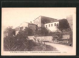 CPA Saint-Paul-en-Forêt, Le Quartier Des écoles Et La Route De Seillans - Ohne Zuordnung