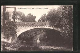 CPA Correns, Le Pont Sur L´Argens - Frankrijk