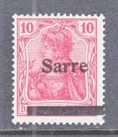 SAAR   6   Type  I     * - 1920-35 Société Des Nations