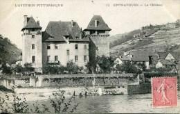 17    ENTRAYGUES - Le Château (date 1907) - Otros Municipios